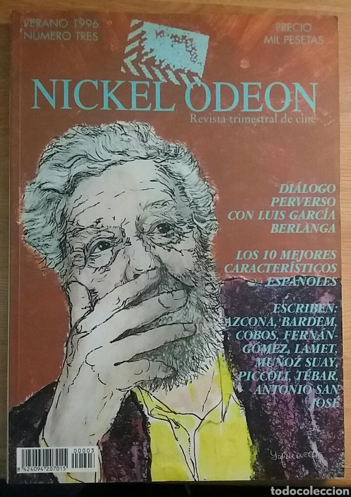 NICKEL ODEON Nº 3. DIÁLOGO PERVERSO CON LUIS GARCÍA BERLANGA. VERANO 1996. (Cine - Revistas - Nickel Odeon)
