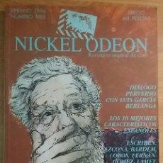 Cine: NICKEL ODEON Nº 3. DIÁLOGO PERVERSO CON LUIS GARCÍA BERLANGA. VERANO 1996.. Lote 152959985
