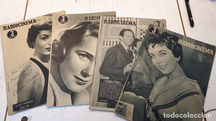 RADIOCINEMA, 4 REVISTAS, CARMEN SEVILLA, CLOSAS Y OTROS. (Cine - Revistas - Radiocinema)