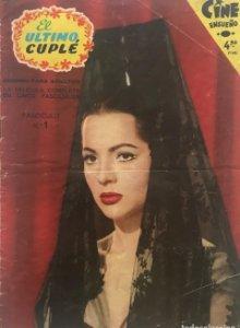1958 El ultimo cuplé. Cine Ensueño. Fascículo Nº1. 17,1x23,9 cm
