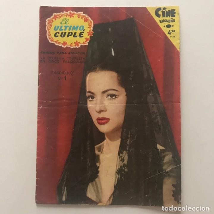 Cine: 1958 El ultimo cuplé. Cine Ensueño. Fascículo Nº1. 17,1x23,9 cm - Foto 2 - 153472630
