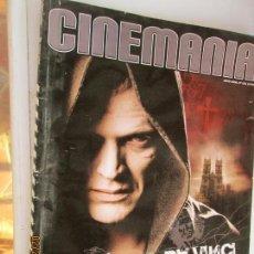 Cine: REVISTA CINEMANIA Nº 128 - MAYO 2006 - EL CÓDIGO DA VINCI DESCUBRE LOS SECRETOS.. Lote 153600574
