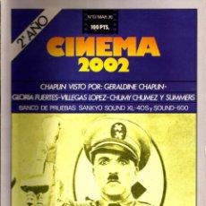 Cine: CINEMA 2002 -- N.13. ESPECIAL CHAPLIN. Lote 153612398