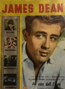 1958 James Dean. 32 páginas 17x24,4 cm