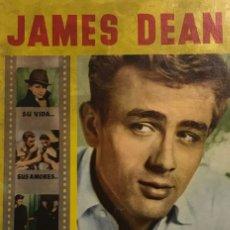 Cine: 1958 JAMES DEAN. REVISTA MONOGRÁFICA. SU VIDA, SUS AMORES, SUS PELÍCULAS, SU MUERTE. 32 PÁGINAS. Lote 149280410