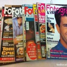 Cine: FOTOGRAMAS - 10 EJEMPLARES - AÑOS 1993/94. Lote 153727770