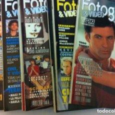 Cine: FOTOGRAMAS - 10 EJEMPLARES - AÑOS 1991/92. Lote 153728058