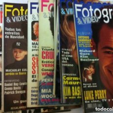 Cine: FOTOGRAMAS - 10 EJEMPLARES - AÑOS 1992/93. Lote 153728286