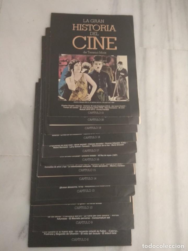 LA GRAN HISTORIA DEL CINE DE TERENCI MOIX (Cine - Revistas - La Gran Historia del cine)