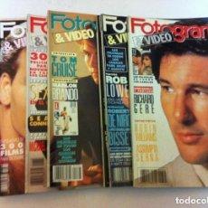 Cine: FOTOGRAMAS - 10 EJEMPLARES - AÑOS 1990/91. Lote 153803534