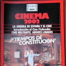 Cine: CINEMA 2002 NÚMERO 43. Lote 154025214