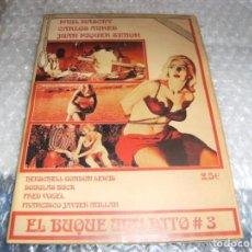 Cine: FANZINE - EL BUQUE MALDITO - Nº 3. Lote 154061686