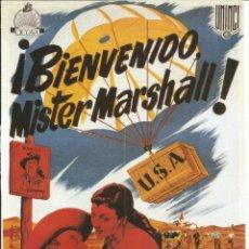 Cine: CARTEL DE CINE TAMAÑO 30X23 APROX INFORMACION DETRAS DE LA PELICULA BIENVENIDO MISTER MARSHALL. Lote 154181138