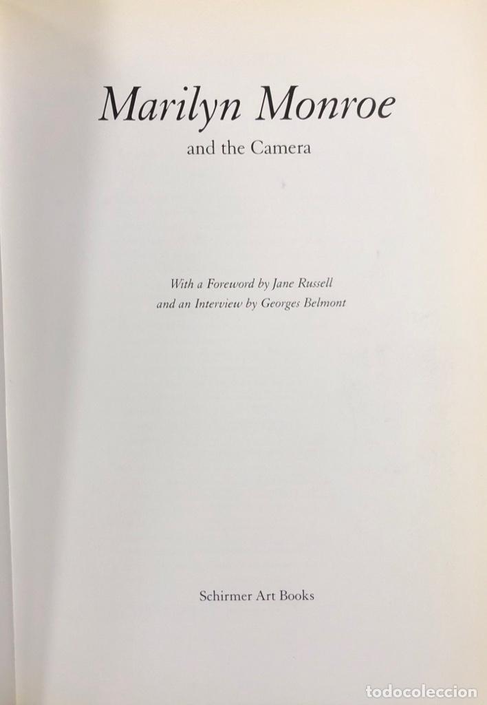 Cine: MARILYN MONROE AND THE CAMERA LIBRO ILUSTRADO DE 245 PAGINAS. AÑO 2000 - Foto 3 - 154259698