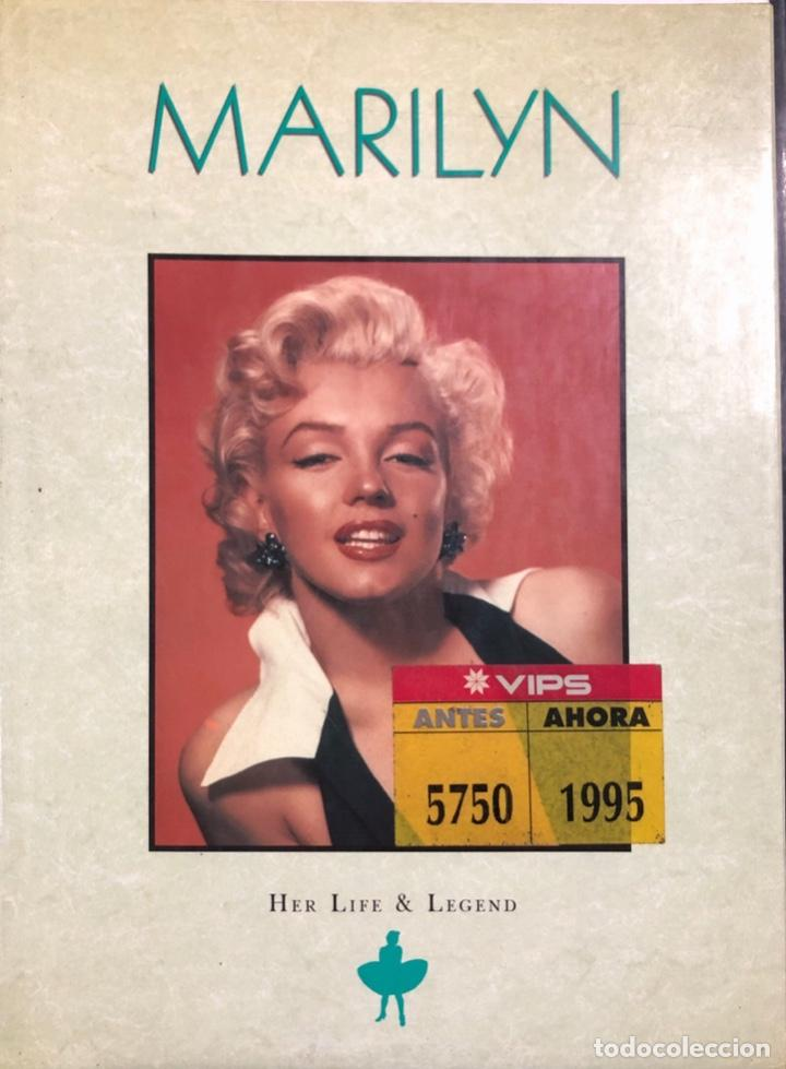 MARILYN. HER LIFE & LEGEND. AÑO 1987. 256 PAGINAS (Cine - Revistas - Cine Mundial)
