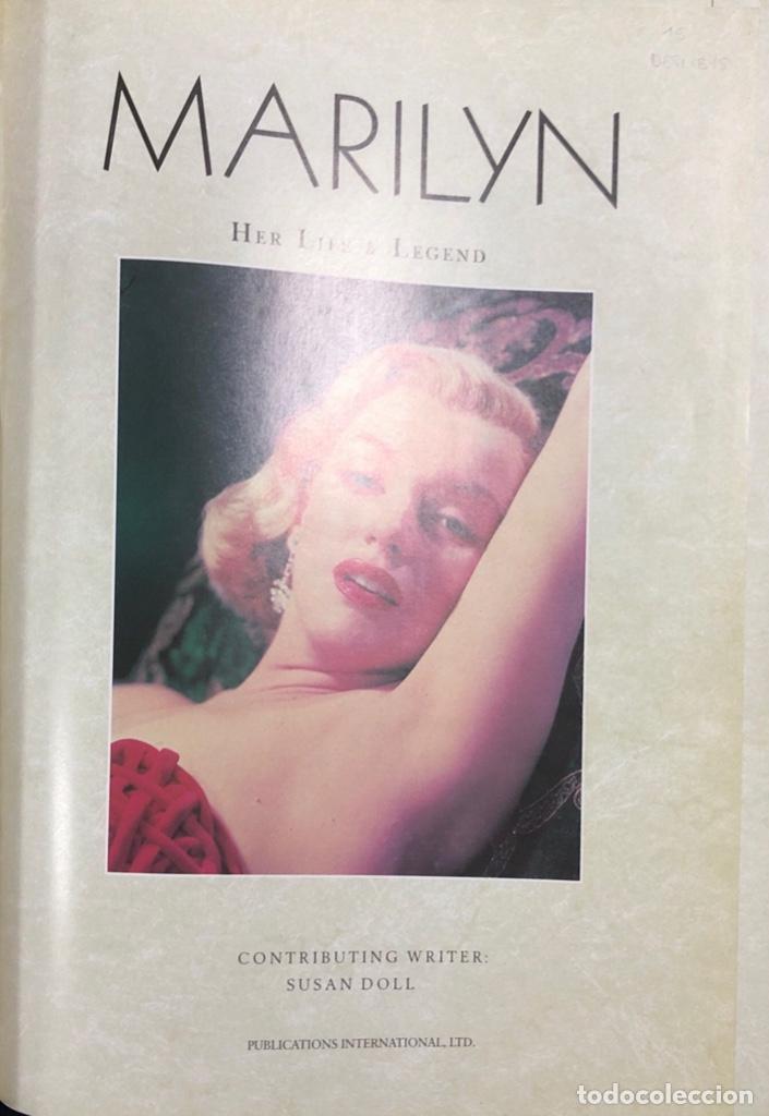 Cine: MARILYN. HER LIFE & LEGEND. AÑO 1987. 256 PAGINAS - Foto 3 - 154260642