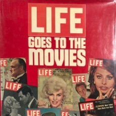 Cine: LIVE GOES TO THE MOVIES. TIME LIFE BOOKS. 304 PAGINAS. AÑO 1945. . Lote 154267534