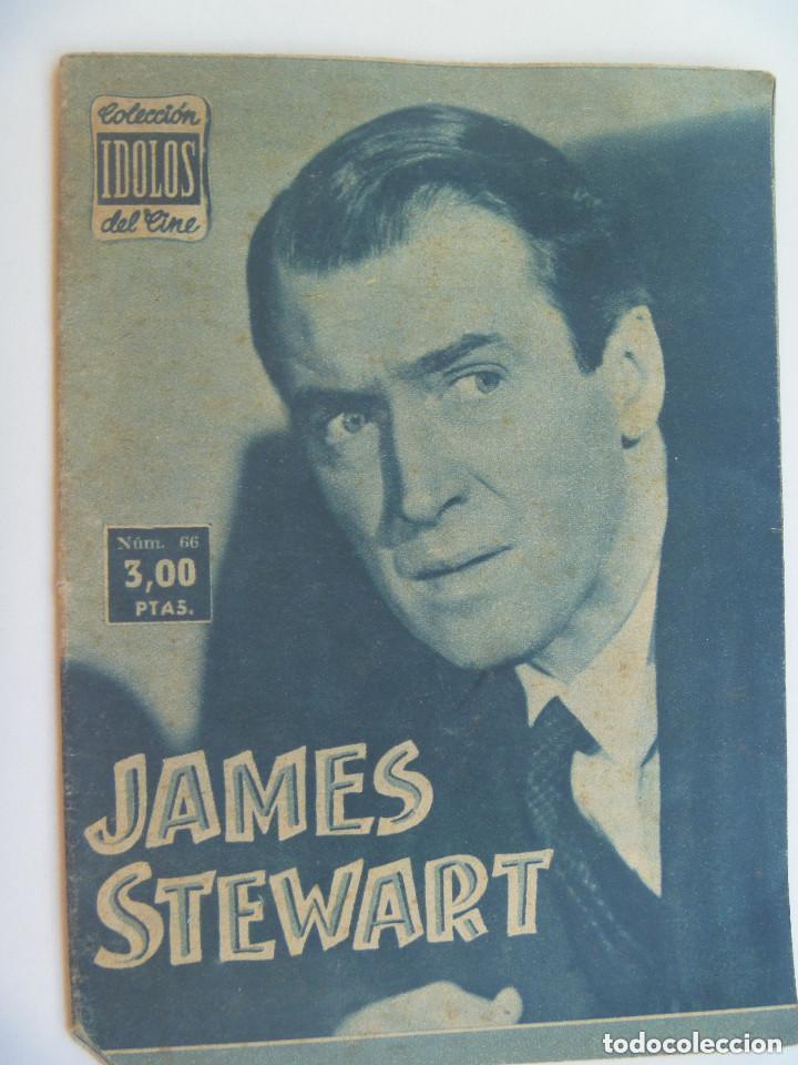 COLECCION IDOLOS DEL CINE : JAMES STEWART , 1958 (Cine - Revistas - Colección ídolos del cine)
