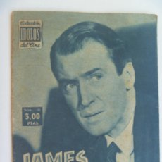 Cine: COLECCION IDOLOS DEL CINE : JAMES STEWART , 1958. Lote 154381594
