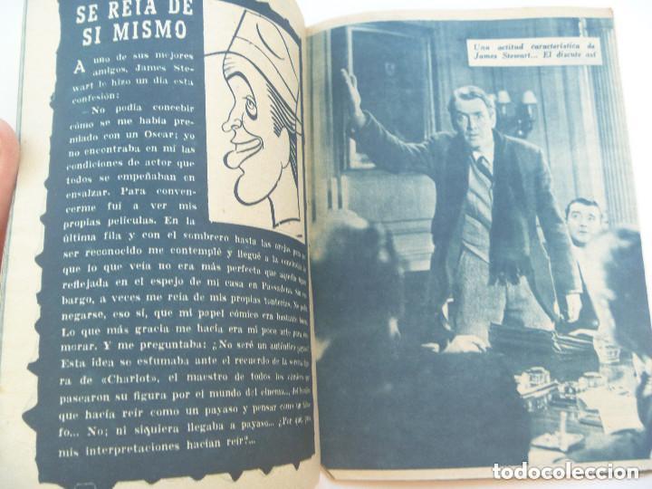 Cine: COLECCION IDOLOS DEL CINE : JAMES STEWART , 1958 - Foto 2 - 154381594