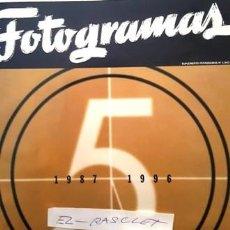 Cine: REVISTA SUPLEMENTO FOTOGRAMAS Nº 5 - AÑO 1987 - 1996 - LIBRO DE ORO 50 AÑOS DE CINE -. Lote 154461230