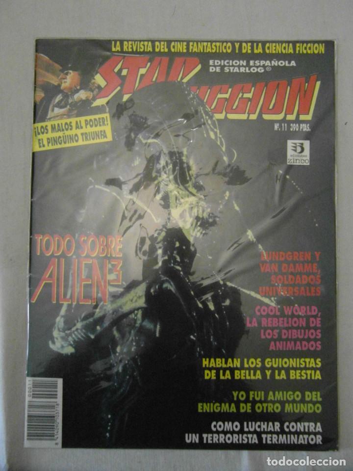 STAR FICCION Nº 11. EDICIONES ZINCO. ALIEN, COOL WORLD, BATMAN, SOLDADO UNIVERSAL (Cine - Revistas - Star Ficcion)