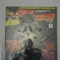 Cine: STAR FICCION Nº 11. EDICIONES ZINCO. ALIEN, COOL WORLD, BATMAN, SOLDADO UNIVERSAL. Lote 154580802
