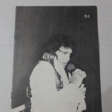 Cine: 11543 - BOLLETIN INFORMATIVO DEL CLUB DE FANS DE ELVIS EN AMERICA - MARZO DE 1973 ( EN INGLES). Lote 154741078