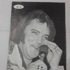 Cine: 11546 - BOLLETIN INFORMATIVO DEL CLUB DE FANS DE ELVIS EN AMERICA - FEBRERO DE 1976 ( EN INGLES). Lote 154741514