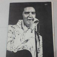 Cine: 11547 - BOLLETIN INFORMATIVO DEL CLUB DE FANS DE ELVIS EN AMERICA - MARZO DE 1973 ( EN INGLES). Lote 154741630