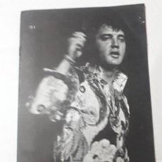 Cine: 11550 - BOLLETIN INFORMATIVO DEL CLUB DE FANS DE ELVIS EN AMERICA - ENERO DE 1973 ( EN INGLES). Lote 154741958