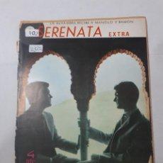 Cine: 11322 - SERENATA - CONFIDENCIAS DEL DUO DINAMICO Nº 56 AÑO 1965. Lote 154742882
