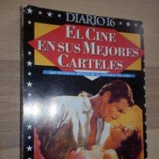 Cine: EL CINE EN SUS MEJORES CARTELES - DIARIO 16 - COMPLETO - ENCUADERNADOS . Lote 154788466