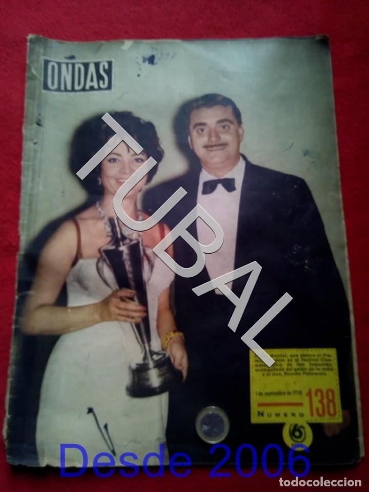TUBAL SARA MONTIEL REVISTA ONDAS 138 1958 G5 (Cine - Revistas - Ondas)