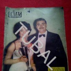 Cine: TUBAL SARA MONTIEL REVISTA ONDAS 138 1958 G5. Lote 154873602