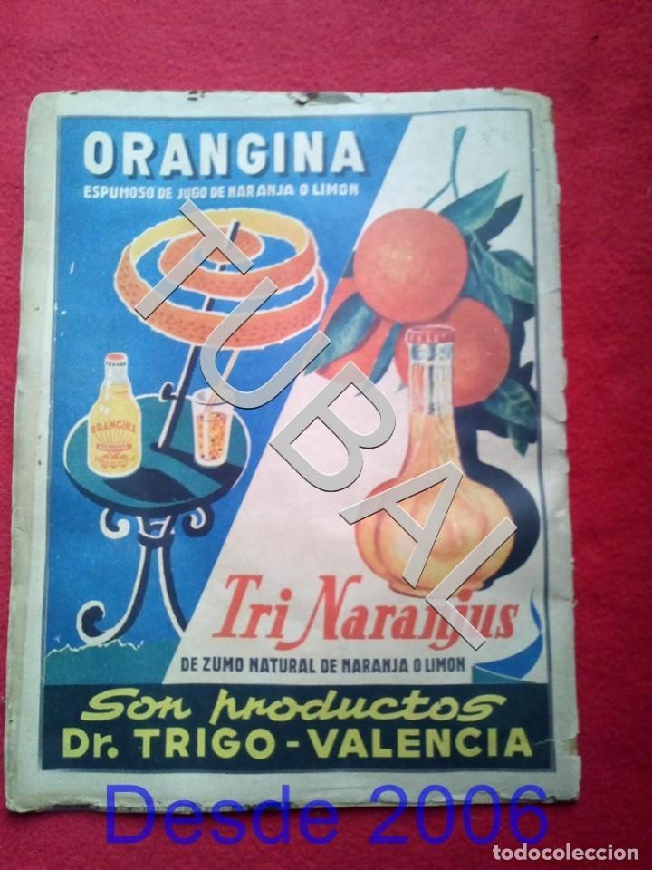 Cine: TUBAL MARY SANTPERE REVISTA ONDAS 129 1958 - Foto 3 - 154873642
