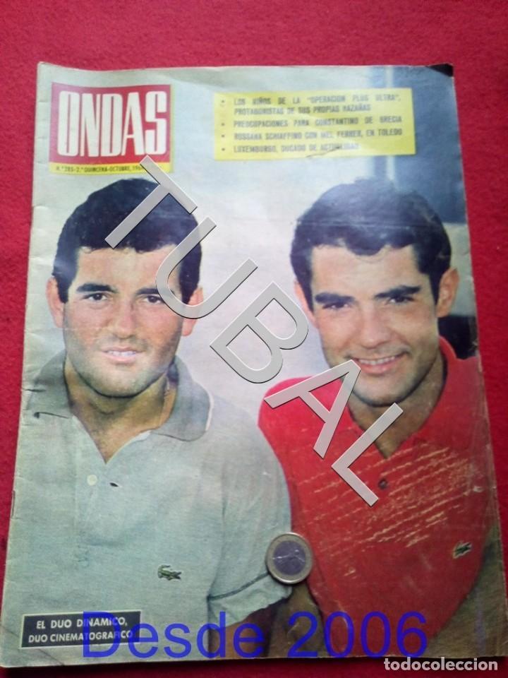 TUBAL EL DUO DINAMICO REVISTA ONDAS 285 1964 (Cine - Revistas - Ondas)