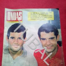 Cine: TUBAL EL DUO DINAMICO REVISTA ONDAS 285 1964 G5. Lote 154873654