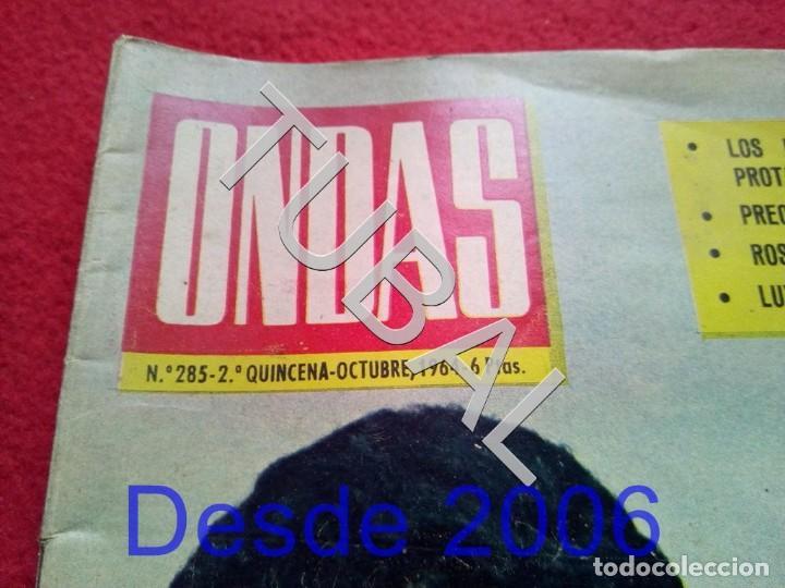 Cine: TUBAL EL DUO DINAMICO REVISTA ONDAS 285 1964 - Foto 2 - 154873654