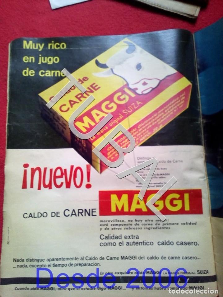 Cine: TUBAL EL DUO DINAMICO REVISTA ONDAS 285 1964 - Foto 3 - 154873654