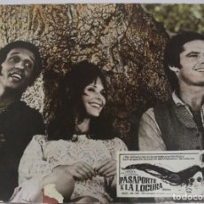 Cine: AFICHE DE CARTÓN PASAPORTE A LA LOCURA. 1968. Lote 155082562