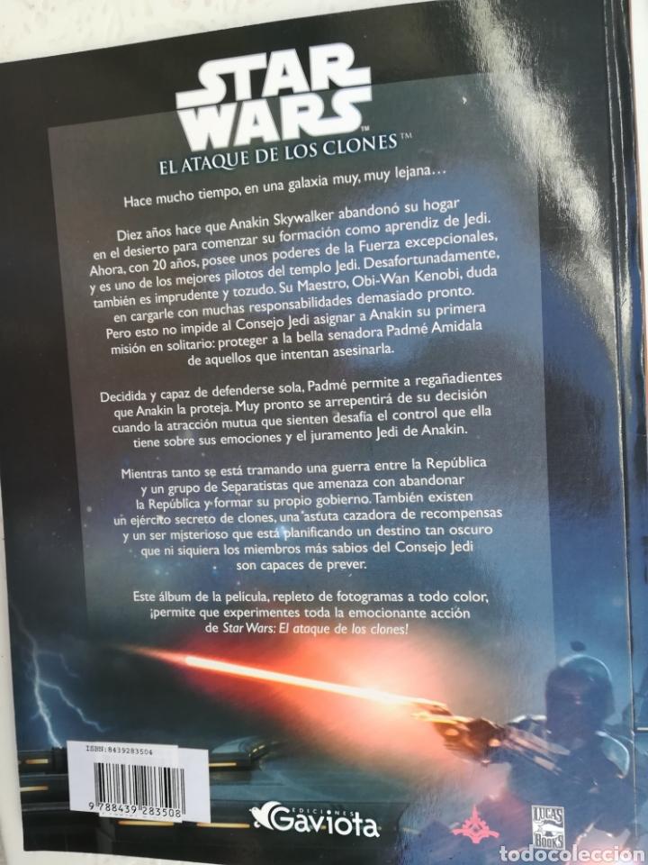 Cine: StarWars el ataque de los clones, el álbum de la película. Ilustradisimo - Foto 2 - 155255265