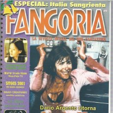 Cine: FANGORIA 9. Lote 155300382