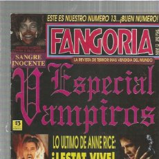 Cine: FANGORIA 13. Lote 155301062
