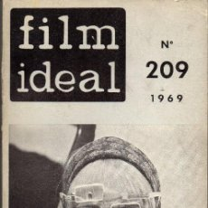 Cine: FILM IDEAL 209, 1969. CARLOS SAURA, PASOLINI, POLANSKI. Lote 155499146