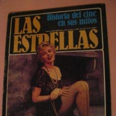 Cine: HISTORIA DEL CINE EN SUS MITOS, Nº 1 - LAS ESTRELLAS - MARILYN MONROE. Lote 155534818