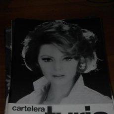 Cine: CARTELERA TURIA 314 FEBRERO 1970. Lote 155711094