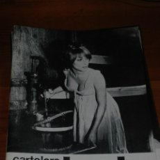 Cine: CARTELERA TURIA 309 DICIEMBRE 1969. Lote 155711202
