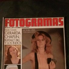 Cine: FOTOGRAMAS 1409-1975-VICTORIA VERA-ANTONIO ISASI-GERALDINE CHAPLIN-OVIDI MONTLLOR. Lote 155752338