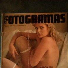 Cine: FOTOGRAMAS 1416-1975-MARCIA BELL-MICHAEL CAINE-KEN RUSSELL-JULIETA SERRANO-AVA GARDNER-LA TRINCA. Lote 155752962